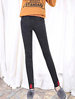 Women's Thick Solid Color Legging,Solid