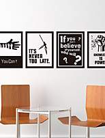 Paysage Stickers muraux Autocollants avion Autocollants muraux décoratifs Matériel Décoration d'intérieur Calque Mural