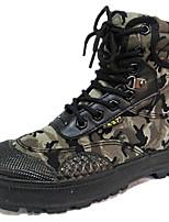 Беговые кроссовки Альпинистские ботинки Муж. Противозаносный Дожденепроницаемый Пригодно для носки Воздухопроницаемость Спорт в свободное