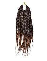 Dread Locks Hair Braid Afro Plaited Havana Twist Synthetic Hair Black/Dark Auburn 14