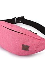 2 L Waist Bag/Waistpack Camping / Hiking Hunting Running Wearable Nylon