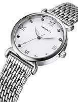 Mujer Reloj Casual Reloj de Moda Reloj de Pulsera Chino Cuarzo Reloj Casual Aleación Banda Casual Elegant Plata Dorado