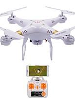 RC Drone X51-W 4 Canaux 6 Axes 2.4G Avec Caméra HD 2.0MP Quadri rotor RC En avant en arrière WIFI FPV Eclairage LED Retour Automatique