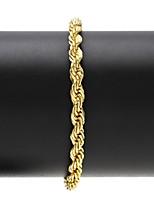 Homme Femme Chaînes & Bracelets Bracelet Classique Rétro Hip hop Mode Acier inoxydable Forme Géométrique Bijoux Pour Soirée Quotidien
