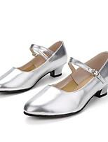 "preiswerte -Damen Modern Lackleder Sneaker Aufführung Maßgefertigter Absatz Gold Silber 1 ""- 1 3/4"" Maßfertigung"