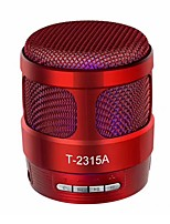 T2315A Bluetooth 4.1 3.5mm Bookshelf Speaker matte black Red Dark Blue Black White