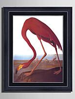 Animal Paysage Loisir Toile Encadrée Set de Cadres Art mural,PVC Matériel Avec Cadre For Décoration d'intérieur Cadre Art Salle de séjour