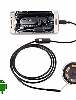 cheap -USB Endoscope Camera 5M Hard Cable Waterproof IP67 Inspection Borescope 5.5mm Lens Night Video Snake Cam for Android PC