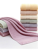 Style frais Serviette de bain,Solide Qualité supérieure Polyester/Coton Jacquard Serviette