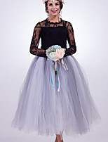 Slips Skirts Fashion Wedding Tea-Length Nylon Chinlon Wedding Accessories