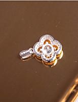 Жен. Важная Стразы Кулоны Цирконий В форме цветка Крестообразной формы Циркон Милая Elegant Бижутерия Назначение Вечерние На каждый день