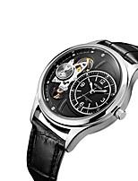 MEGIR Муж. Повседневные часы Модные часы Нарядные часы Наручные часы С автоподзаводом Кожа Группа На каждый день Cool