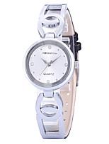 Mulheres Relógio Casual Relógio de Moda Relógio de Pulso Chinês Quartzo Relógio Casual Lega Banda Casual Elegant Prata Dourada Ouro Rose