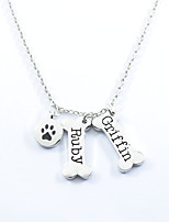 Women's Pendant Necklaces Four Prongs Alloy Fashion Personalized Jewelry For Daily Casual