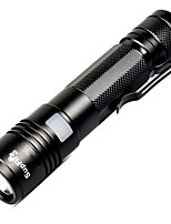 cheap -A5 LED Flashlights / Torch Flashlight Kits Handheld Flashlights/Torch LED 300 lm 5 Mode Cree XP-E R2 Kits Camping/Hiking/Caving Everyday