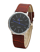 Men's Women's Quartz PU Band