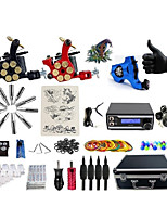 Professional Tattoo Kit Paladin 3 Tattoo Machines  WildFire  Power Supply Inks Not Included