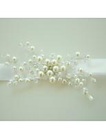 Недорогие -Свадебные цветы Букетик на запястье Свадьба Особые случаи бисер Около 10 см