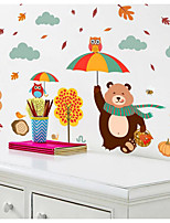 Animal Pegatinas de pared Calcomanías de Aviones para Pared Calcomanías Decorativas de Pared,Papel Decoración hogareña Vinilos decorativos