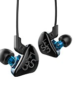 kz es3 auriculares con cable moviendo el estilo in-ear de hierro