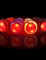 Bike Glow Lights LED LED Cycling Gleam Water Resistant / Water Proof Adjustable Size Creative With Switch AG10 Lumens AG10 Red