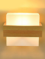 cheap -Wall Light Ambient Light Wall Sconces 40W 220V E27 Modern/Contemporary Wood