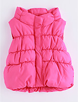 cheap -Girls' Solid Vest,Cotton Sleeveless Blushing Pink