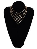 Жен. Ожерелья-бархатки Сплав Elegant Бижутерия Назначение Повседневные