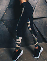 Mujer Medio camuflaje Estampado Legging