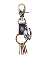 cheap -Keychains Jewelry Leather Alloy Circle Fashion Gothic Gift Daily