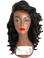 cheap -New Style Brazilian Human Hair Lace Front Wig Deep Wave Factory Price  Lace Front Natural hair wigs with Baby Hair For Black Woman On Sale