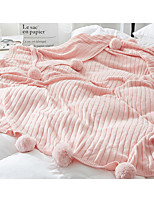 Super Soft Solid Color Polyester Blankets