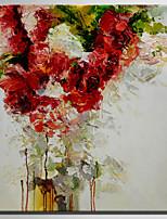 Peint à la main A fleurs/Botanique Rustique Moderne Un Panneau Toile Peinture à l'huile Hang-peint For Décoration d'intérieur