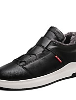 cheap -Men's Shoes Synthetic Microfiber PU Spring Fall Light Soles Sneakers For Casual Black