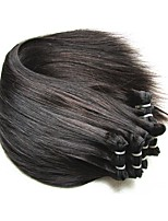 cheap -Remy Brazilian Natural Color Hair Weaves Hair Extensions 8 pcs Black