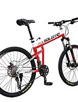 Mountain Bike Cycling 30 Speed 26 Inch/700CC MICROSHIFT 24 Oil Disc Brake Suspension Fork Folding Aluminium Alloy Aluminum Alloy