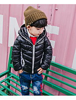 Boys' Solid Pattern Down & Cotton Padded
