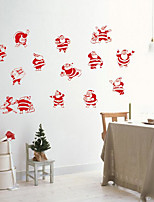 Christmas Wall Stickers Favor Holders Decorative Wall Stickers,Bonded Material Home Decoration Wall Decal