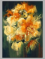 cheap -Orchid 100% Hand Painted Contemporary Oil Paintings Modern Artwork Wall Art for Room Decoration