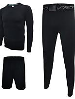 Homens Conjunto Camiseta e Calça de Corrida Calça curta Secagem Rápida Respirável Shorts Meia-calça Camiseta Conjuntos de Roupas para