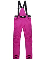 Ski Pants Ski Trousers Women's Skiing Camping / Hiking Outdoor Exercise Snow sports Winter Sports Warm Waterproof Windproof Wearable