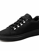cheap -Men's Shoes Customized Materials Fall Winter Fluff Lining Comfort Sneakers For Casual Office & Career Black