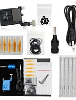cheap -Professional Tattoo Kit 1 rotary machine liner & shader 1 Tattoo Machine Inks Not Included