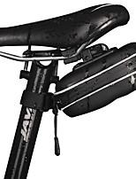 Nuckily Bolsa para Bicicleta Bolsa para Guardabarro Banda reflectante Resistente a la lluvia Cremallera impermeable Ligeras Fácil de