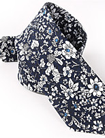Men's Cotton Neck Tie,Casual Print All Seasons