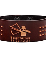 cheap -Men's Bracelet Fashion Rock Leather Circle Jewelry For Daily Going out