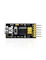 economico -keyestudio ftdi (chip originale) programma di base downloader usb to ttl ft232usb cavo per arduino