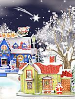 outras decorações residenciais de natal para férias de Santa