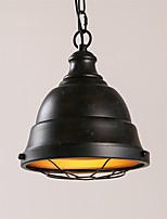 vintage industriel edison simplicité loft pendentif lumières métal salle à manger cuisine bar café couloir luminaire