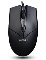 a4tech op-550nu проводной офисный мышь usb 3 клавиши 1000 точек на дюйм с кабелем 165 см